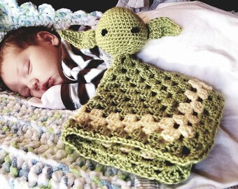 Yoda/Leia Cuddle Toy/Lovey/Star Wars/ Movie/Baby/Baby Shower/Gift