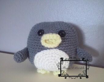 Amigurumi Penguin grey