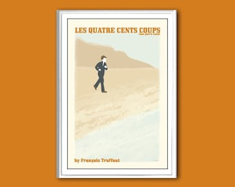 Les quatre cents coups, or The Four Hundred Blow movie poster in various sizes