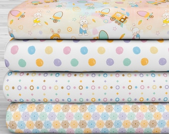 27x17 Felt Sheets - Easter of Dreams Collection - Pattern 1 - Pack of 4
