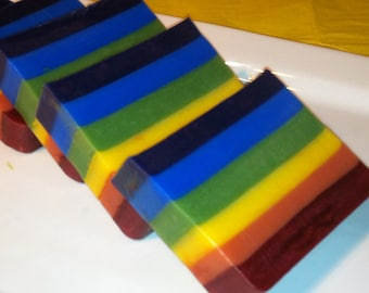 Rainbow Bar Soap