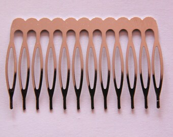 hair accessory, silver comb, 64 * 39 individually