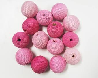 Bon Bon Beads - Crispin Round Beads - 25mm - 14pcs Per Pack