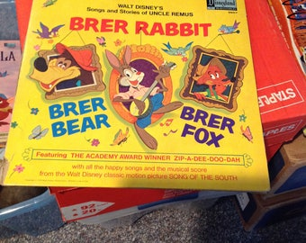 Brer Rabbit story by Disney
