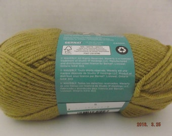 Bernat Waverly Yarn ~ Colour # 55010 Colonial Beige ~ 100 Grams ~ 197 Yards