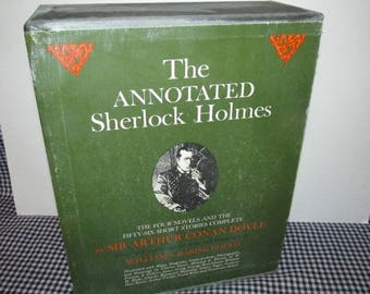 The Annotated Sherlock Holmes by Wm. Baring-Gould - 2 Vol. Set