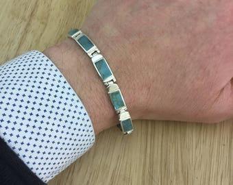 Turquoise bracelet,vintage torquise bracelet, vintage silver bracelet,quality braclet,unique bracelet