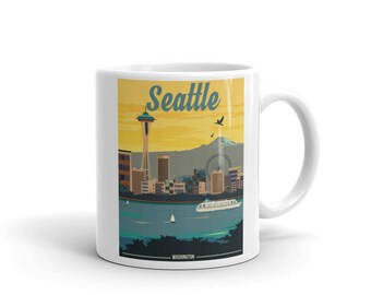 Seattle Washington | Coffee Mug