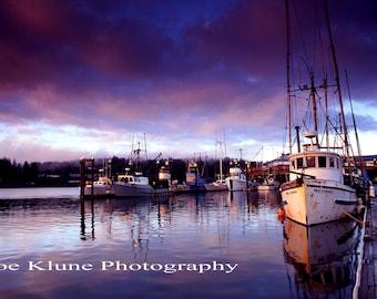 Miss Conduct H,Horizontal PRINT Oregon coast photography, Ocean decor,boat decor, nautical print, Fine Art Print, 4X6,5X7,8X12,11X17