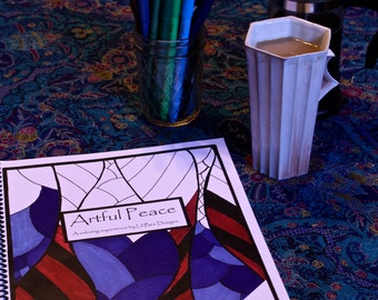 Artful Peace- a coloring book for adults