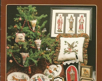 """Cross My Heart """"An Old Fashioned Christmas"""" Cross Stitch Leaflet"""