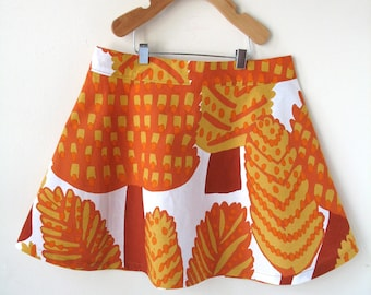 Size 8 Girl's Marimekko Skirt - Autumn Trees