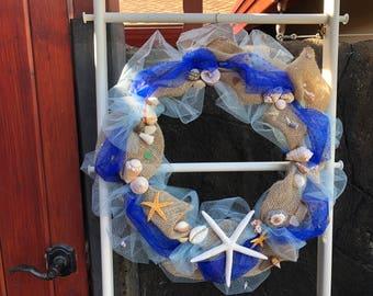 Ocean Treasures Wreath