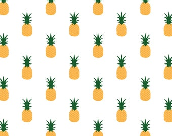Pineapple, Wrapping Paper, Pineapple gift wrap