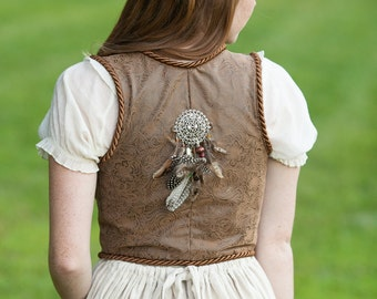 The Huntress Bodice (Made to Order)