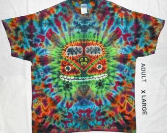 Free Shipping - Handmade Hippie Bus Tie Dye Shirt