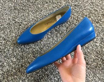 Vintage Blue Flats