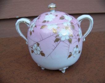 vintage odd sugar bowl