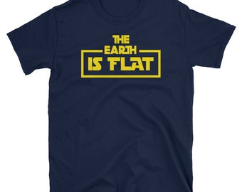 The Earth is Flat Parody T-Shirt