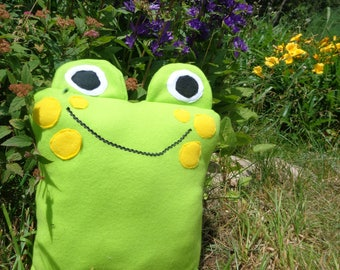 Mr Frog Pillow