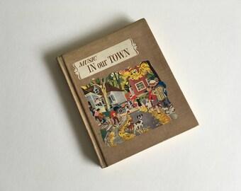 Vintage  Children's Music Book.