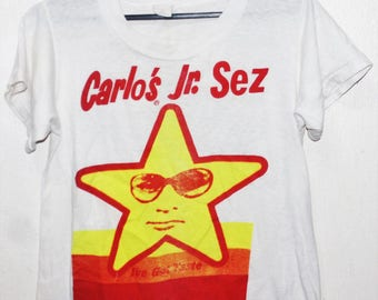 VINTAGE 80s 1984 DEAD KENNEDYS punk rock hardcore tour promo concert t shirt