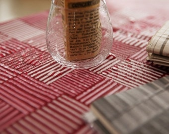 """Laminated Cotton Fabric by the yard 20's cotton_wine _43.3""""  SAM 144151"""