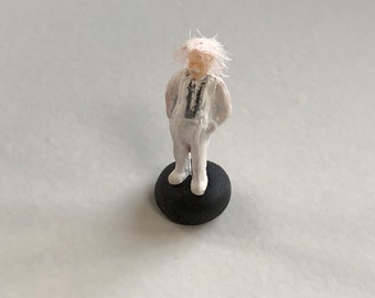 Mark Twain in HO Scale Perfect for Planter or Terrariums model train scene