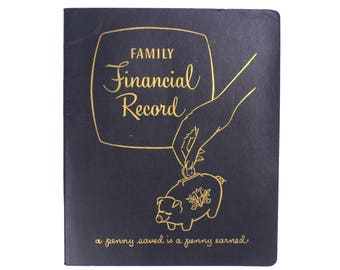 Family Financial Record Budget Book Planner