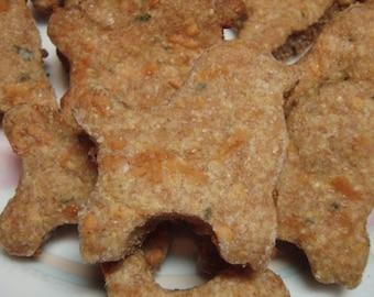 Organic Dog Treats - Cheez Poodles - All Natural Dog Treats Organic Gourmet Vegetarian - Shorty's Gourmet Treats