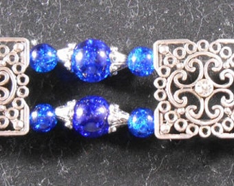 Bracelet - Blue & Silver #1