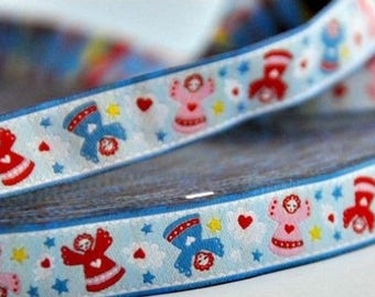 Stripe Blue Angels Farbenmix Ribbon