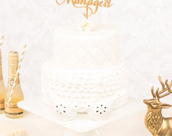 Cake Topper - Wedding - Harry Potter - Soiree Collection