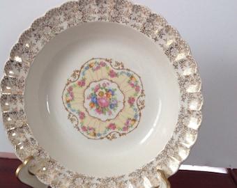 Bowl, Sebring Pottery, Delight Pattern