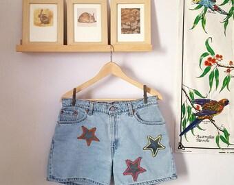 Original Star Shorts, Light Wash Levis
