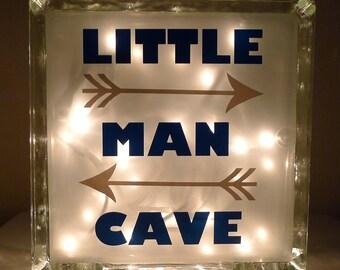 Boys Little Man Cave Nursery Light