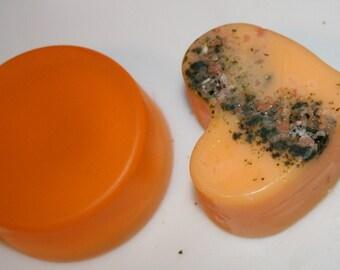 Satsuma Mist Heart and Shave Soap 7 oz
