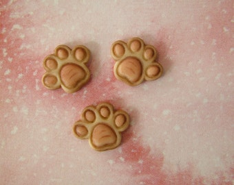 Paw Button set of 3