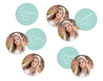 Photo Confetti, Party Confetti, Graduation Party Decor, Table Confetti, Party Supply, Party Decor, Graduation, High School Graduation