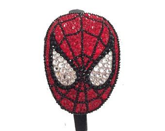 Spiderman Rhinestone Head band