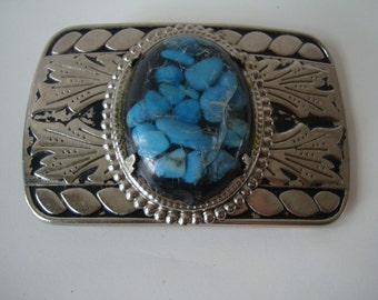 Vintage Western  Belt Buckle Lovely