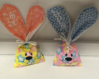 Personalized Easter Bunny Treat Bags