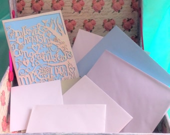 Custom: Wedding Card Suitcase, Favour, Wedding Cards, Gifts