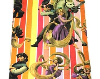 flynn and rapunzel fabric