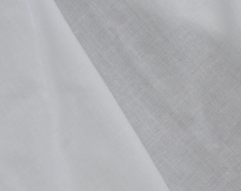 French Voile 100% Combed Cotton  by the yard R1