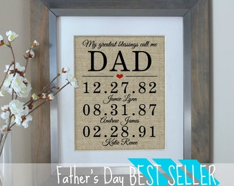 Personalized Fathers Day Gift Fathers Day Gift from Daughter Dad Gift from Son Gifts for Dad Gift for Mom Mothers Day Gift from Daughter