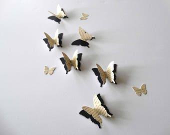 3D Paper Butterflies, layered butterflies, formal butterflies, wall art, table decorations, butterfly confetti, wedding butterflies