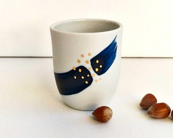 Cup Libussa / / porcelain & gold