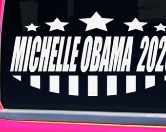 Michelle Obama 2020 for President Election Sticker
