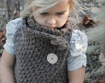 CROCHET PATTERN - Adelaide Wrap (Toddler, Child, Adult sizes)